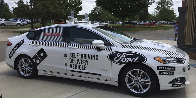 Robocars will soon deliver your pizza